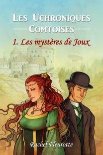 """""""Les mystères de Joux"""". Couverture de roman pour Rachel Fleurotte"""